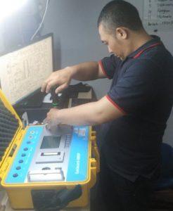perbaikan gas detector
