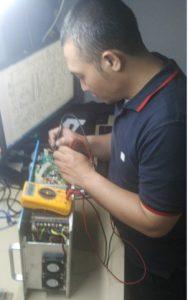 perbaikan Flue Gas Analyzer
