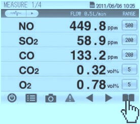 Isokinetic calculator on Tablet Android