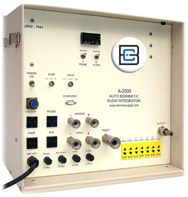 Auto Isokinetic Flow Integrator