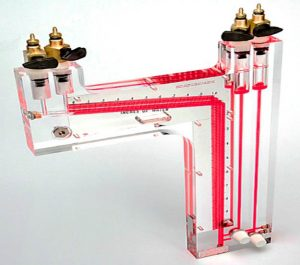 Dual Vertical Inclined Manometer