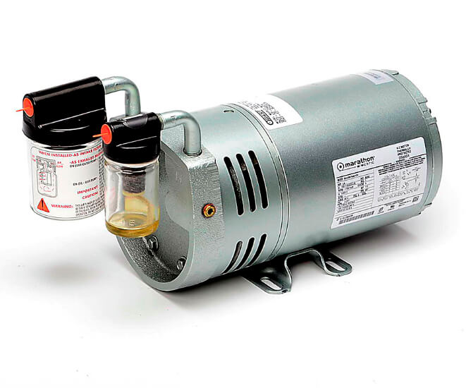 Pompa baling-baling isokinetic