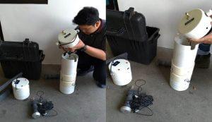 jasa servis alat uji low flow sampler