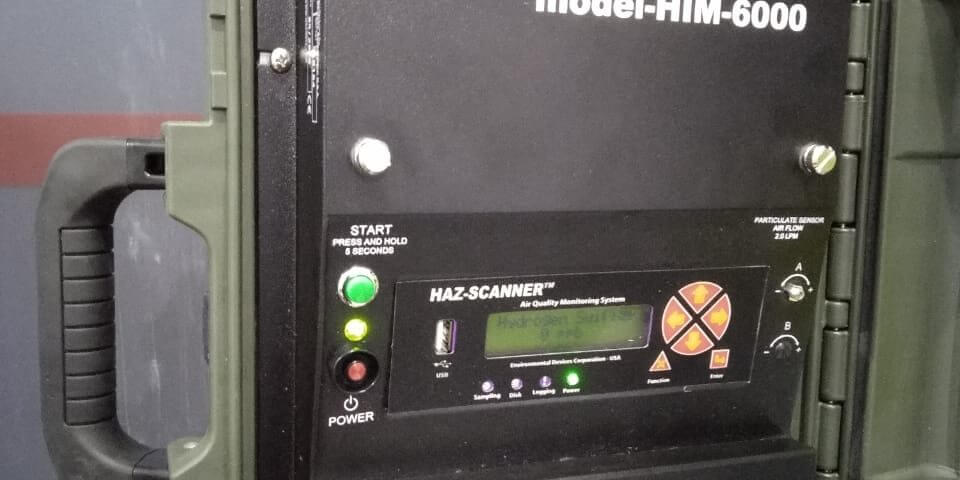HAZ-SCANNER HIM 6000 Air Quality Monitoring System