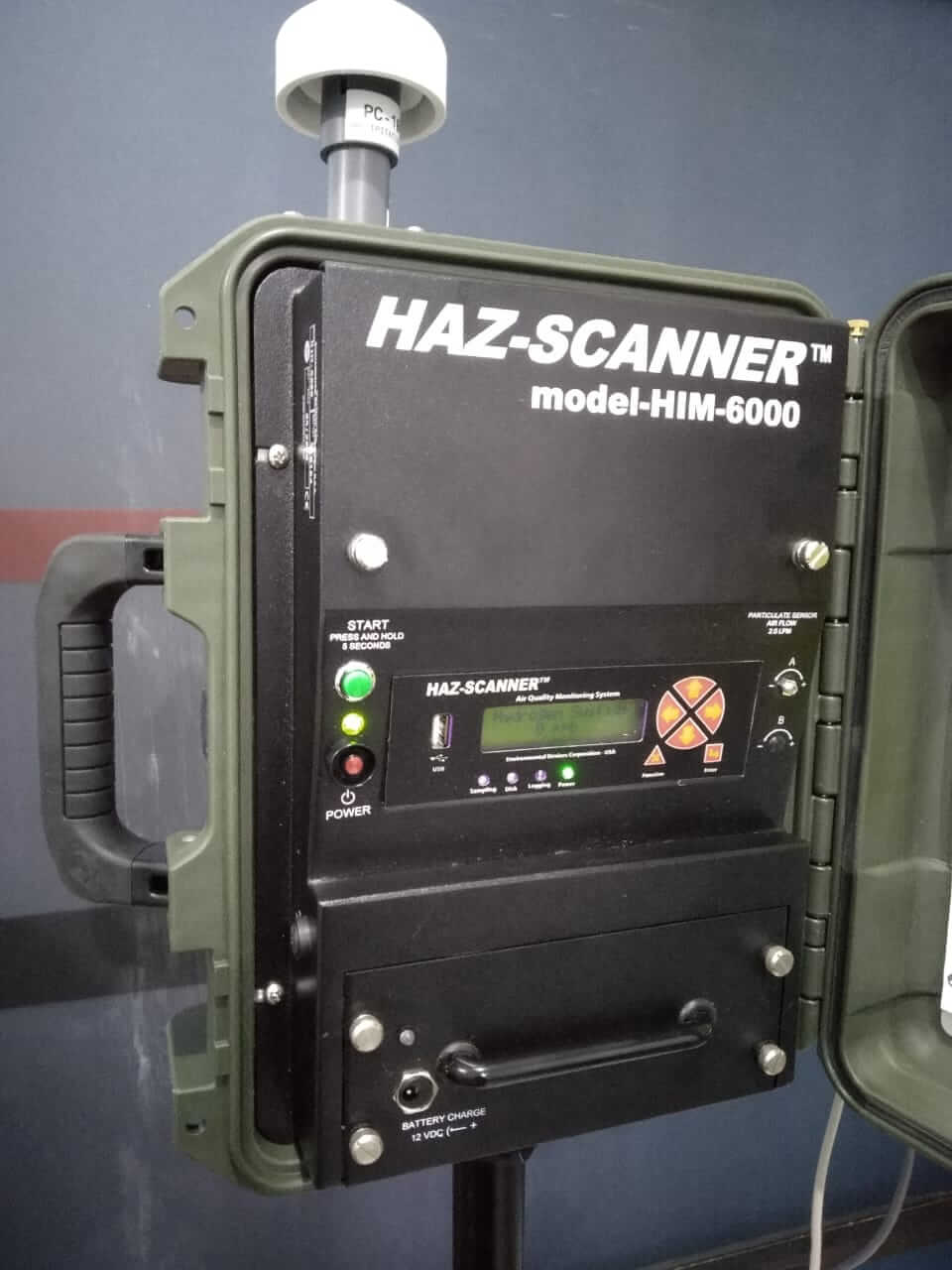 HAZ-SCANNER HIM 6000 (Air Quality Monitoring System)