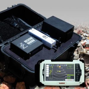 Rescue Radar II Ultra Band Ground Penetrating Radar