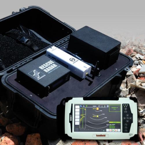 Rescue Radar II (Ultra Band Ground Penetrating Radar)