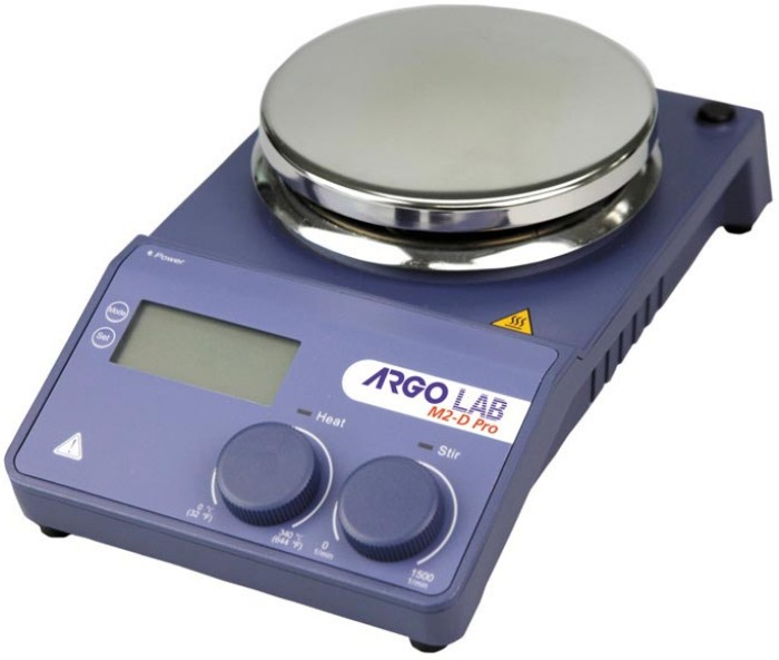 Digital Hotplate Magnetic Stirrer – Argo LAB Type M2-D PRO