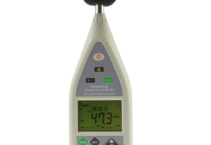 Portable Integrating Sound Level Meter - Soundtek Type 107 S