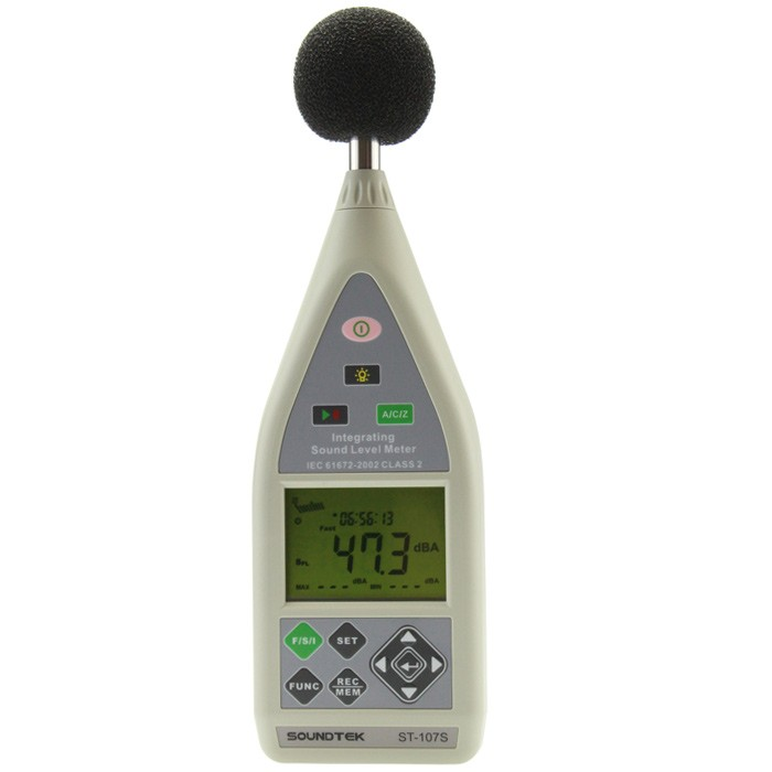 Portable Integrating Sound Level Meter - Soundtek Type 107 S
