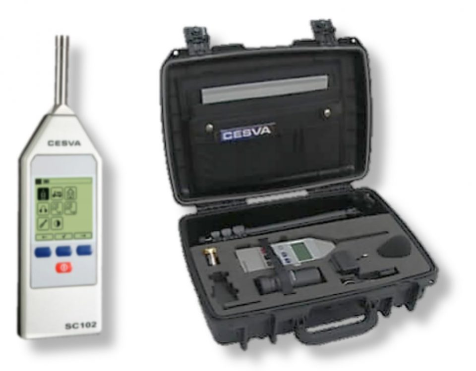 Portable Sound Level Meter - Cesva Type SC 102