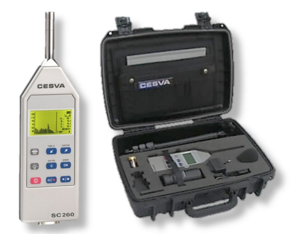 Portable Sound Level Meter - Cesva Type SC 260