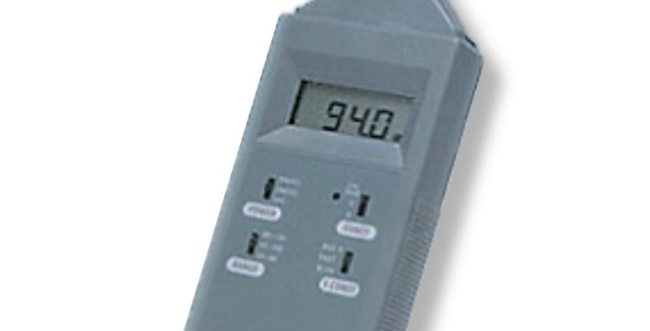 Portable Sound Level Meter - INS Type LM 9600