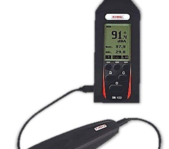 Portable Sound Level Meter - Kimo Type DB100