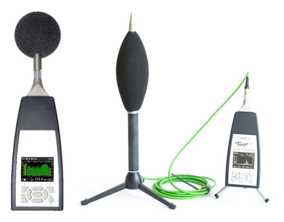 Portable Sound Level Meter - Sinus Type Tango Plus
