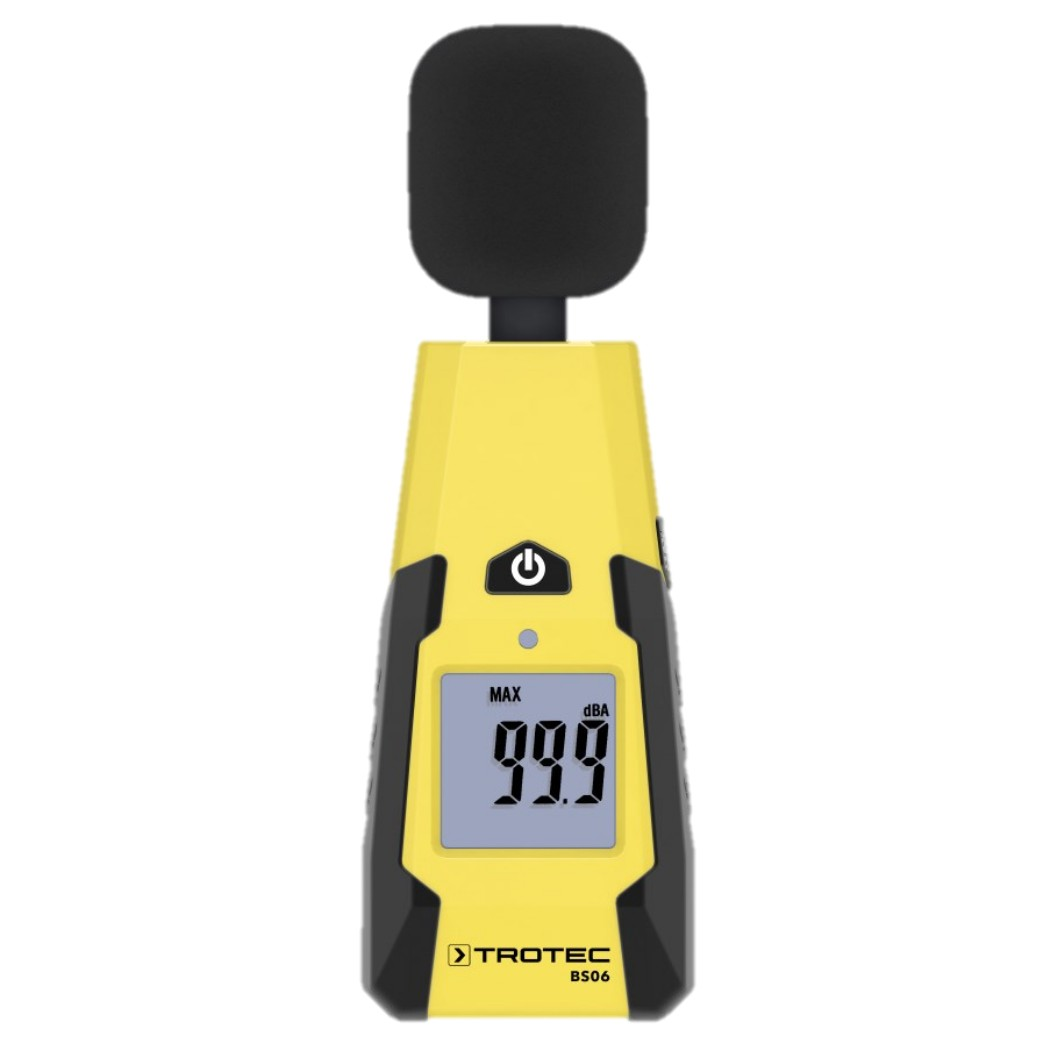 Portable Sound Level Meter – Trotec Type BS06