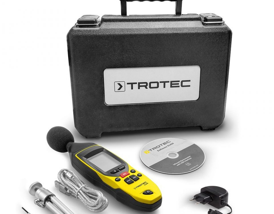 Portable Sound Level Meter - Trotec Type SL 400