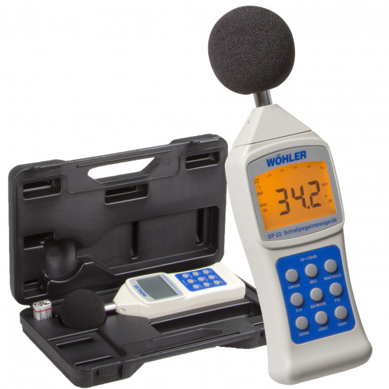 Portable Sound Level Meter - Wohler Type SP 22