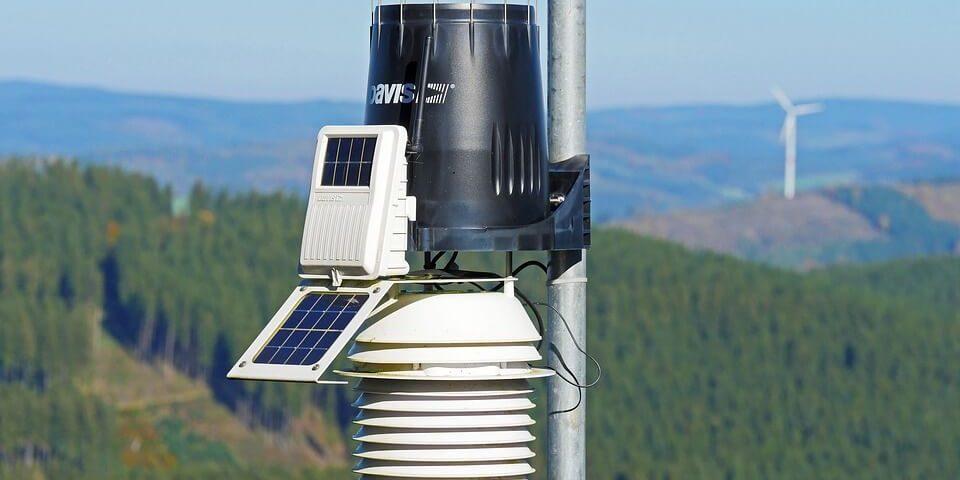 alat monitoring udara murah