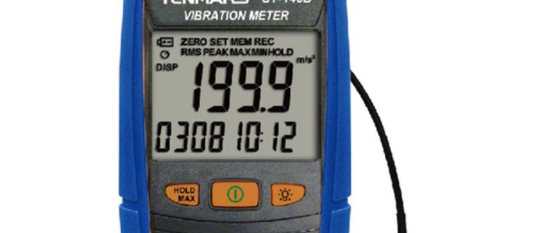 Datalogging Vibration Meter - Tenmars Type ST-140D