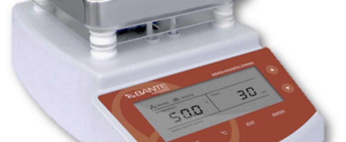 Digital Hotplate Magnetic Stirrer - Bante Type MS400