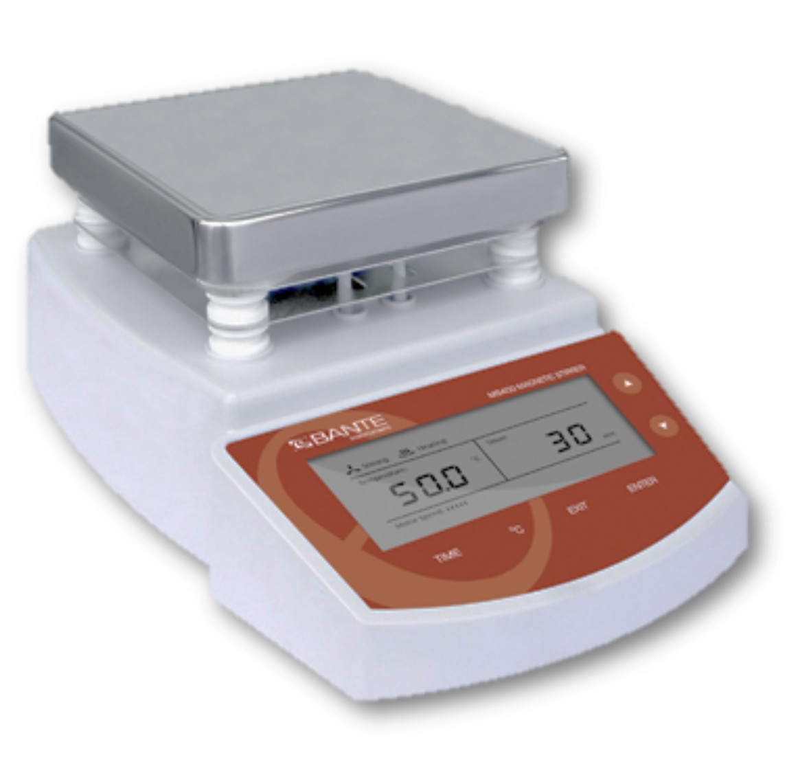 Digital Hotplate Magnetic Stirrer – Bante Type MS400