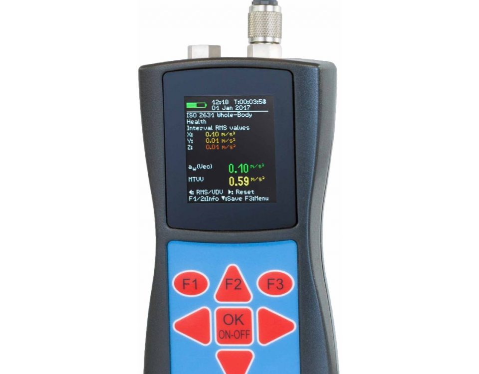 Portable Human Vibration Meter (Hand Arm & Whole Body)