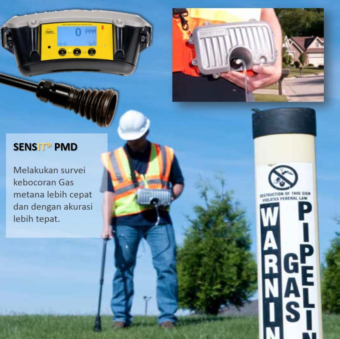 Portable Methane Detector – Sensit Type PMD