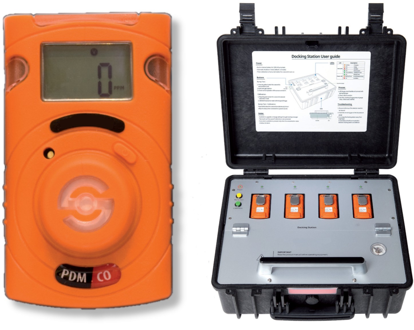 Portable Single Gas Detector (Alat Pendeteksi Gas Tunggal)