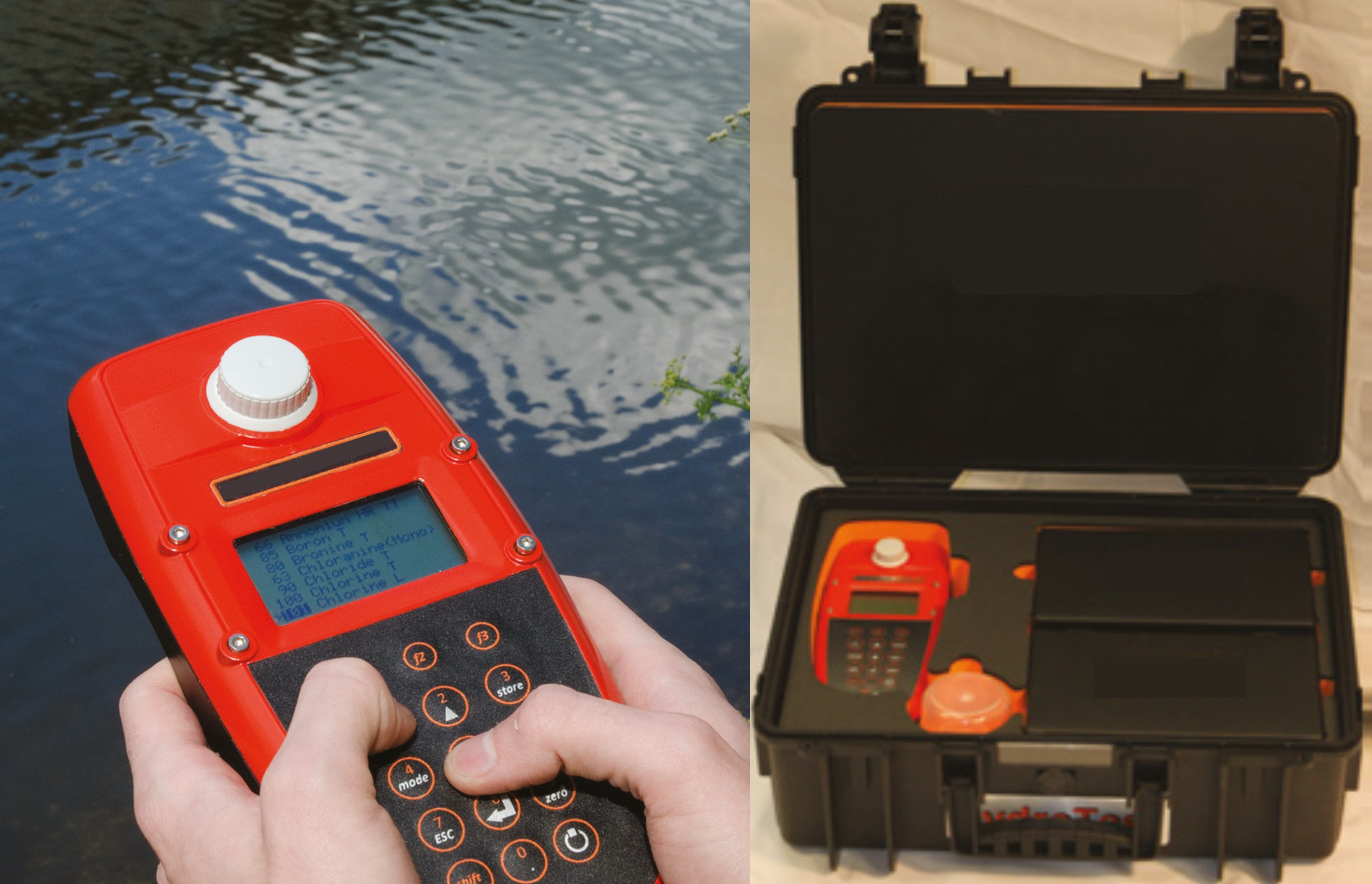 Photometer Multiparameter Water Quality Meter Portable