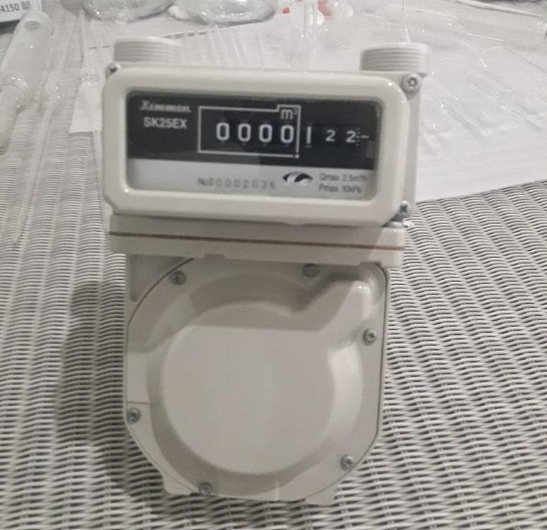 Dry Gas Meter - Kimmon SK25EX