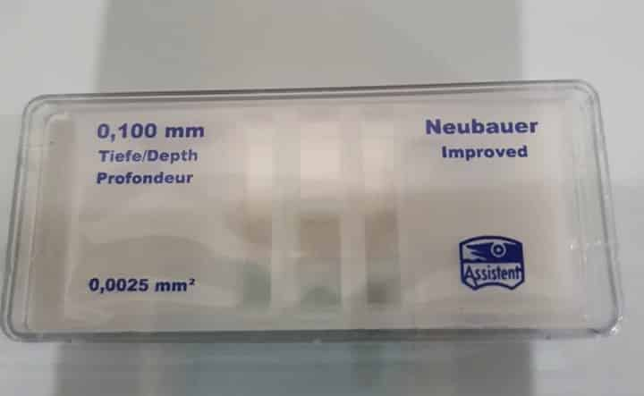 Counting Chamber Neubauer Improved Assistent Germany