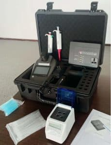 WQ-01 Multiparameter Water Quality Analyzer Unit