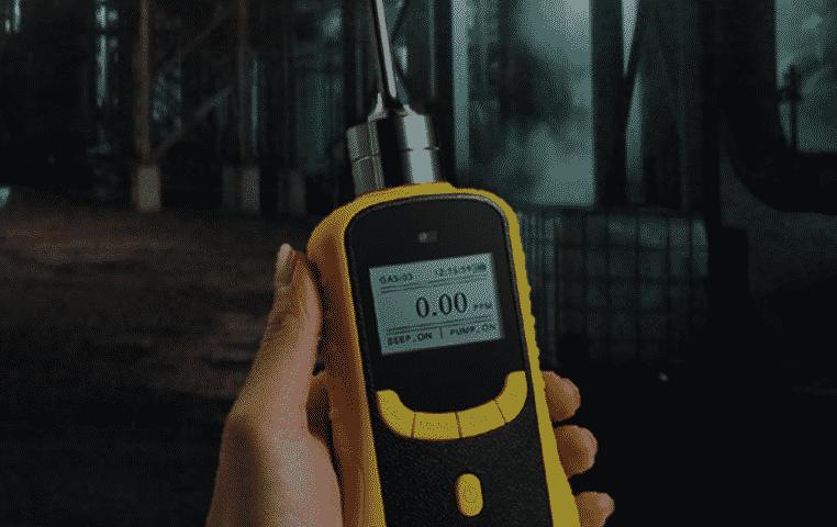 Portable Pumping Multi Gas Detector