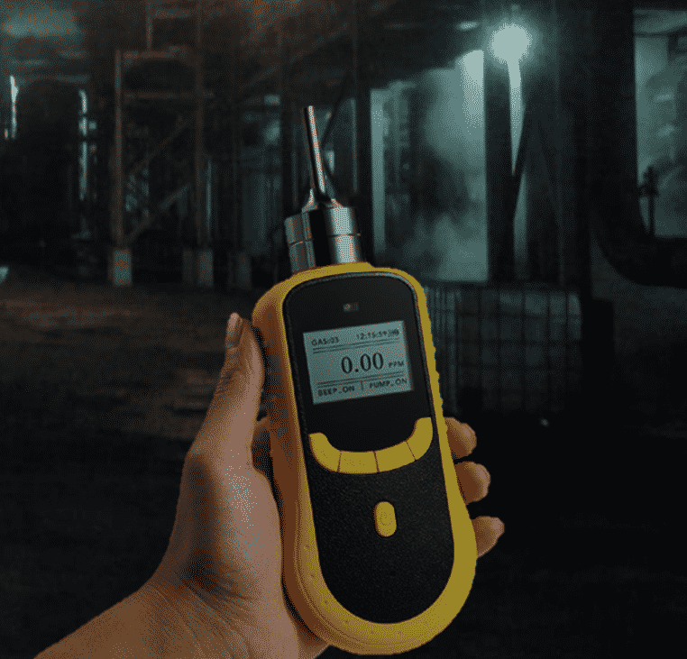 Portable Pumping Multi Gas Detector