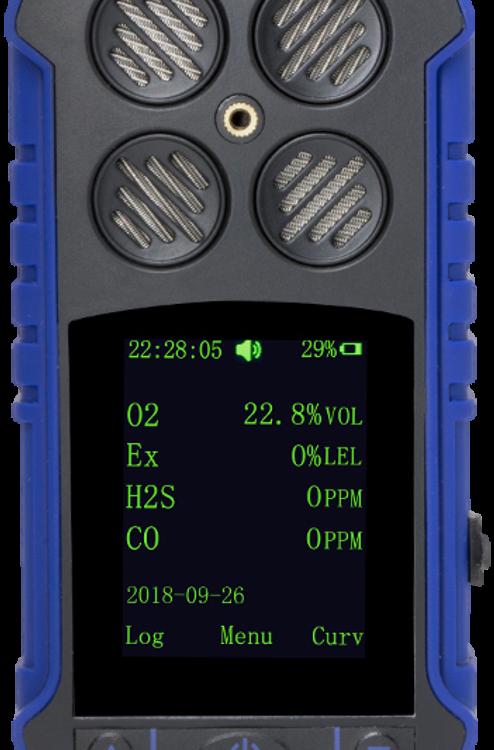Alat Pendeteksi Gas Ambient Portable