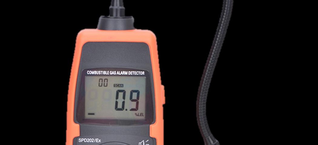 Detektor Gas Mudah Terbakar