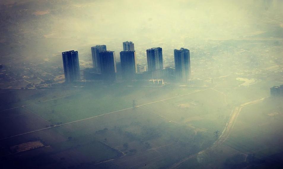polusi udara di kota besar