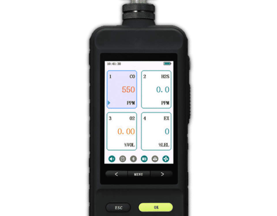 Portable Multi Gas Detector SKY6000