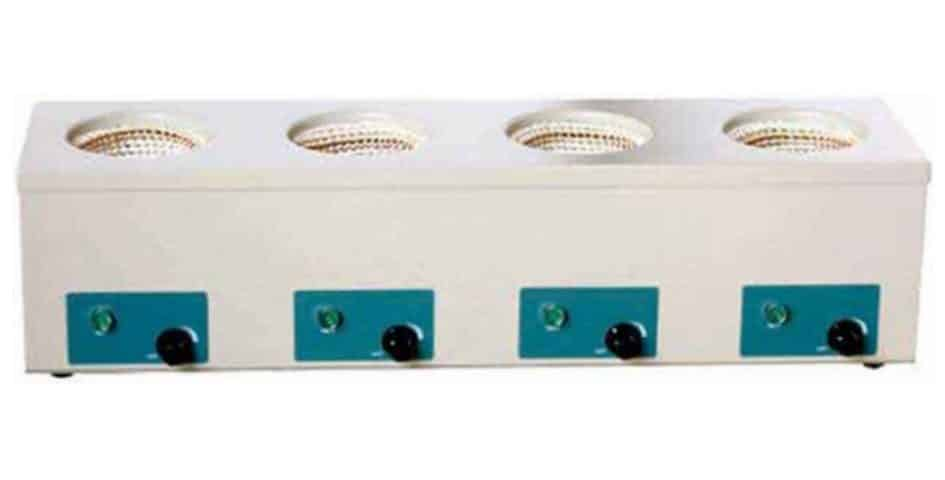 Several Rows Magnetic Stirring Heating Mantles