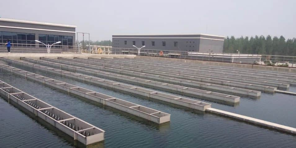 water treatment plant instalasi pengolahan air limbah
